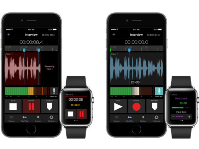 New Audio- and Music-Oriented Apps for Apple Watch