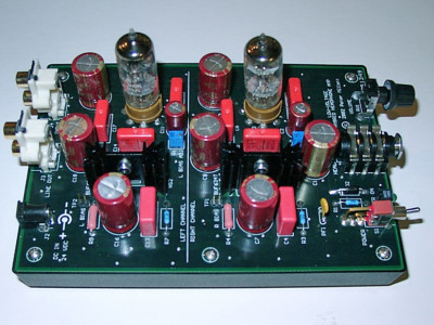 Build a Low-Voltage Tube Hybrid Headphone/Line Amp