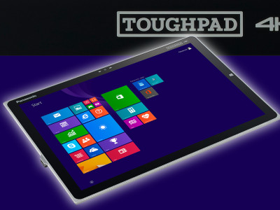 """Updated Panasonic Toughpad 4K 20"""" Windows Tablet for Creative Applications"""
