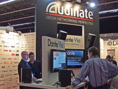 Audinate to Connect Everything with Dante at InfoComm 2015