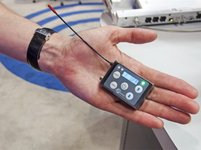 Lectrosonics Shows the Super Slight Micro at Infocomm 2015
