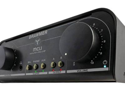 Drawmer MC1.1 Monitor and Phono Pre-Amp is Now Available