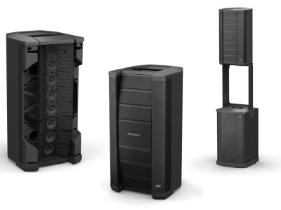 Bose Introduces F1 Portable P.A. With Controllable Vertical Coverage