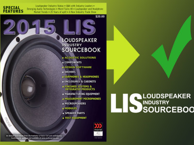 The Loudspeaker Industry Sourcebook 2015 is now available online