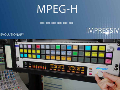 Jünger Audio Provides Level Magic Selective Loudness Processing For MPEG-H TV Audio System