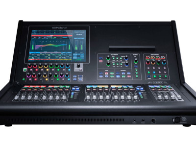 Roland Introduces Compact M-5000C Live Mixing Console