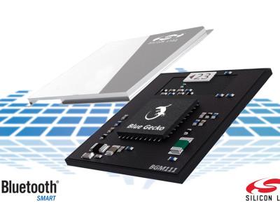 Blue Gecko Module Simplifies Bluetooth Smart Design