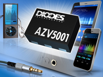 Diodes Enables Cost-Effective Headset Detection with Low Power IC in Miniature Package