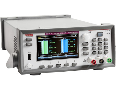 Tektronix Keithley 2281S Is First to Emulate Battery Performance from Full Charge to Total Discharge