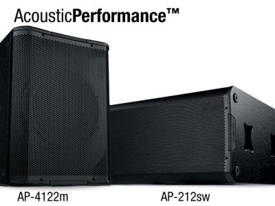 QSC Introduces New AcousticPerformance Loudspeaker Models