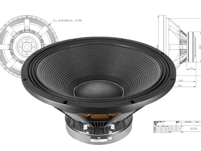 "Test Bench - BMS 18S450 18"" Pro Sound Subwoofer"
