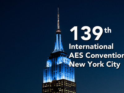 139th International Audio Engineering Society Convention Lights Up the Empire State Building