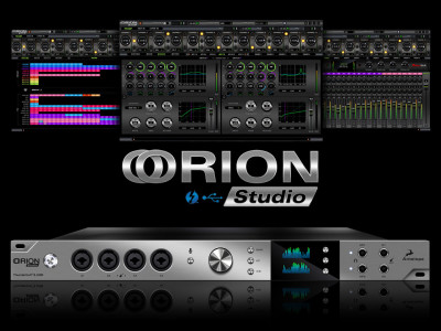 Orion Studio: Another Thunderbolt and USB Audio Interface by Antelope Audio