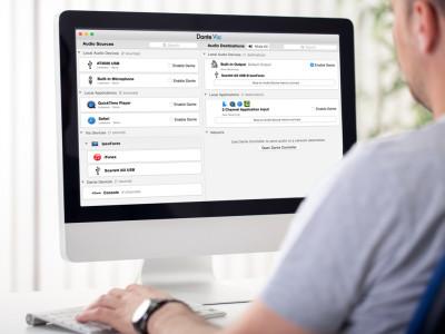 Audinate Announces Immediate Availability of Dante Via Software