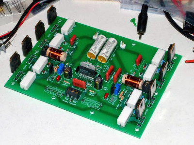High End 120W MOSFET IC Driven Amp
