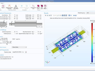 COMSOL Releases COMSOL Multiphysics 5.2 Including Major New Features to the Acoustics Module