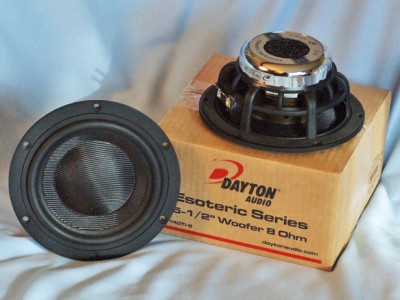 "Test Bench - Dayton Audio ES140Ti-8 5.5"" Midwoofer"
