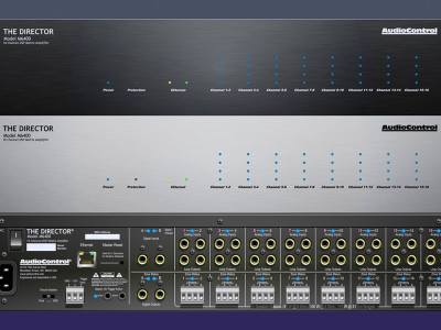 AudioControl New Multi-Zone Network Matrix-Amplifier Director Model M6400 Now Shipping
