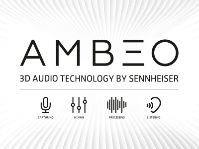Sennheiser AMBEO 3D Audio Technology Showcased at CES 2016
