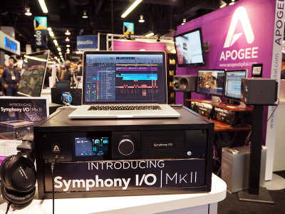 Apogee Introduces Symphony I/O Mk II Audio Interface for Thunderbolt, Pro Tools HD and SoundGrid platforms