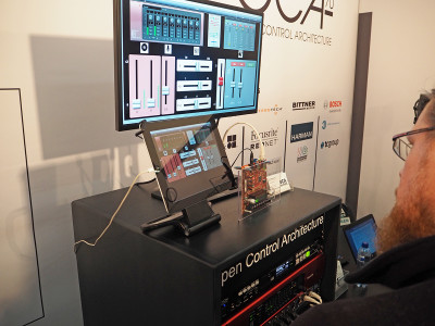 OCA Alliance Promoted Open Control Architecture/AES70 Standard at ISE 2016