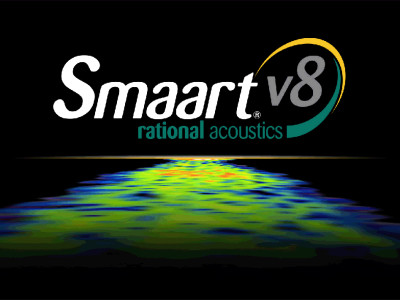 Rational Acoustics Smaart v8 Introduces new Software Environment