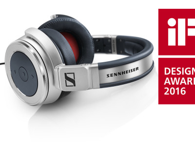 Sennheiser HD 630VB Headphones Honored at iF Design Awards 2016