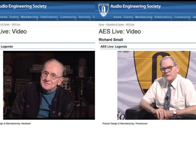 The Audio Engineering Society Launches AES Live Online Video Collection