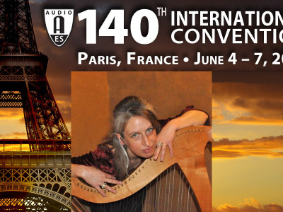 Spatial Audio Expert Rozenn Nicol to Present Heyser Memorial Lecture at 140th Audio Engineering Society International Convention in Paris