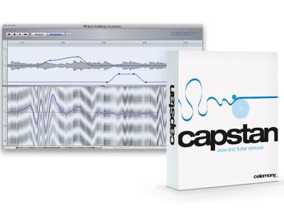 Celemony Capstan 1.2 with Higher Resolution Audio Analysis
