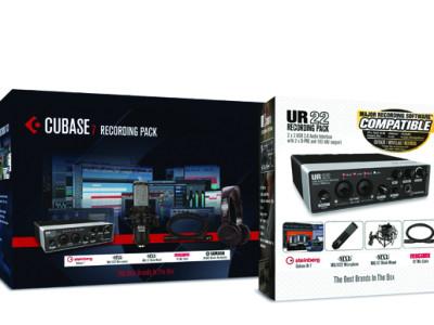 Steinberg, MXL, Mogami, and Yamaha Offer High-Value Recording Packs