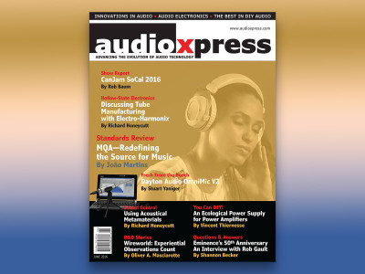 Download audioXpress June 2016 and Learn More About the Future of Audio Product Design