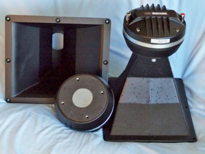 """Test Bench: B&C Speakers DE1085TN 2"""" Titanium Diaphragm Compression Driver Coupled to a B&C ME60 Horn"""