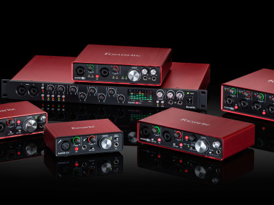 Focusrite Announces Second Generation of Scarlett USB Audio Recording Interfaces with Pro Tools First Bundle
