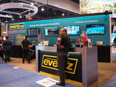 EvertzAV Adopts Dante Audio over IP Networking and Introduces Industry's First Dante-Enabled AV Switch Product