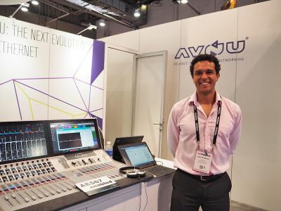 AVB/TSN Momentum and AES67/AVB Harmony at InfoComm 2016