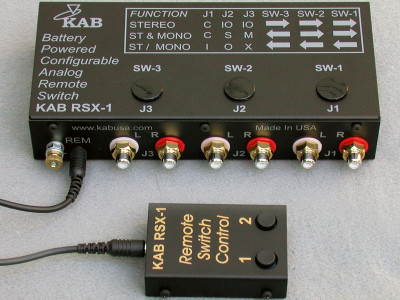 Fresh from the Bench: KAB Electro Acoustics RSX-1 Remote Analog Switch