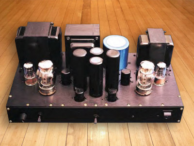 A Single-Ended 6550 Amplifier