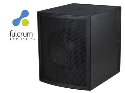 Fulcrum Acoustic Unveils New CS118 Subcardioid Subwoofer