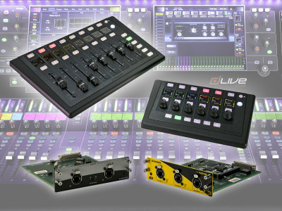 Allen & Heath Strengthens dLive Digital Mixing System With New Controllers and Audio Networking Cards