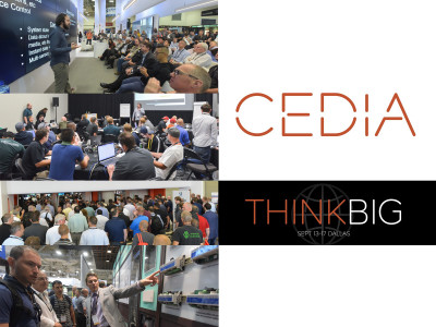 CEDIA Expo 2016 Thinks Big in Dallas