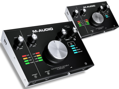 M-Audio Announces Immediate Availability of M-Track C-Series 2X2 and 2X2M Audio Interfaces