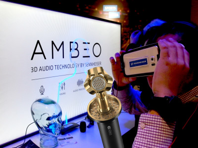 Sennheiser Introduces AMBEO VR Mic Compact Ambisonics Microphone