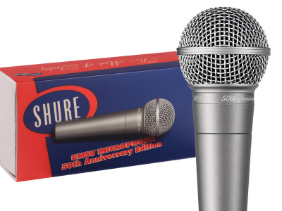 Shure Celebrates 50th Anniversary of Iconic SM58 Microphone