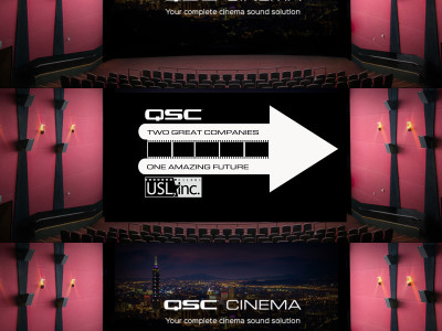 QSC Reinforces its Cinema Equipment Portfolio with the Acquisition of Ultra-Stereo Labs