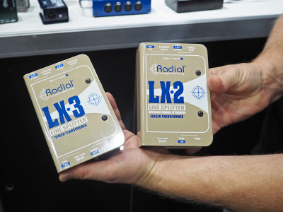 Radial Introduces LX2 and LX3 Passive Line Splitters