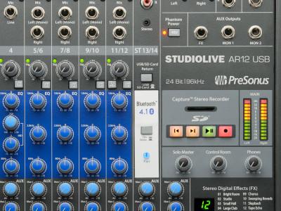 PreSonus Releases StudioLive AR USB Hybrid Mixers