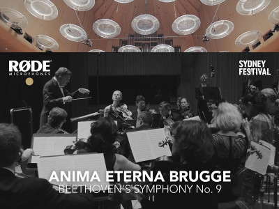 RØDE Microphones Sponsors Beethoven's 9th Symphony Recording and Offers Free Hi-Res Download