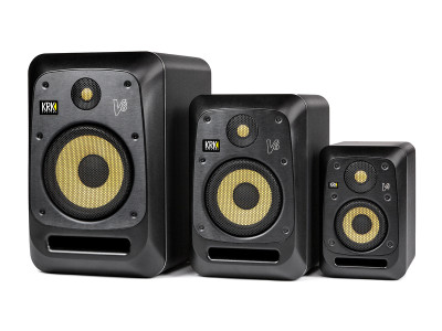 KRK Debuts New Updated V Series Monitors