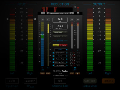 NUGEN Audio Introduces MasterCheck Pro Codec and Loudness Auditioning Plug-in for the Streaming Age